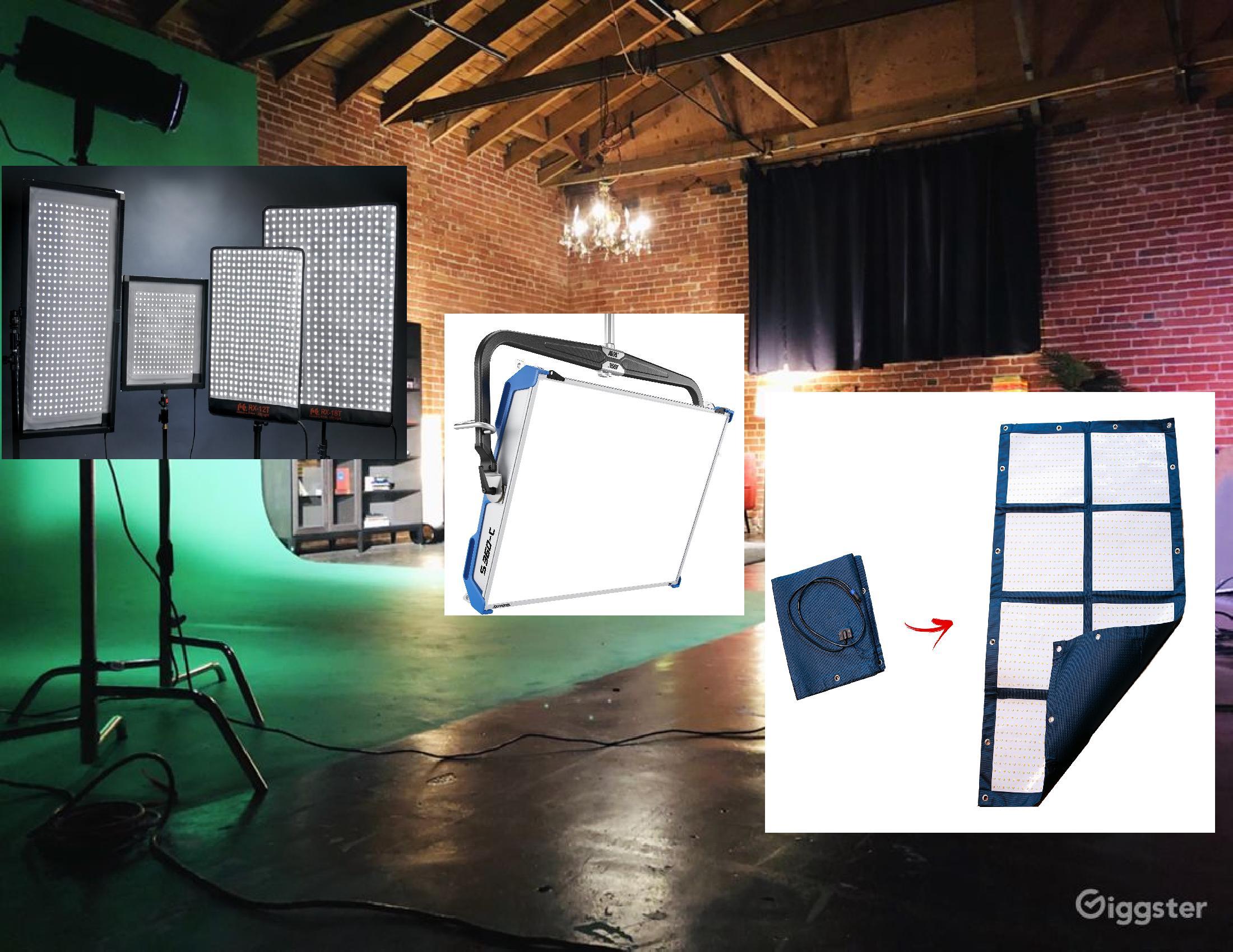 Filmmaking LED Lighting Fixtures 2