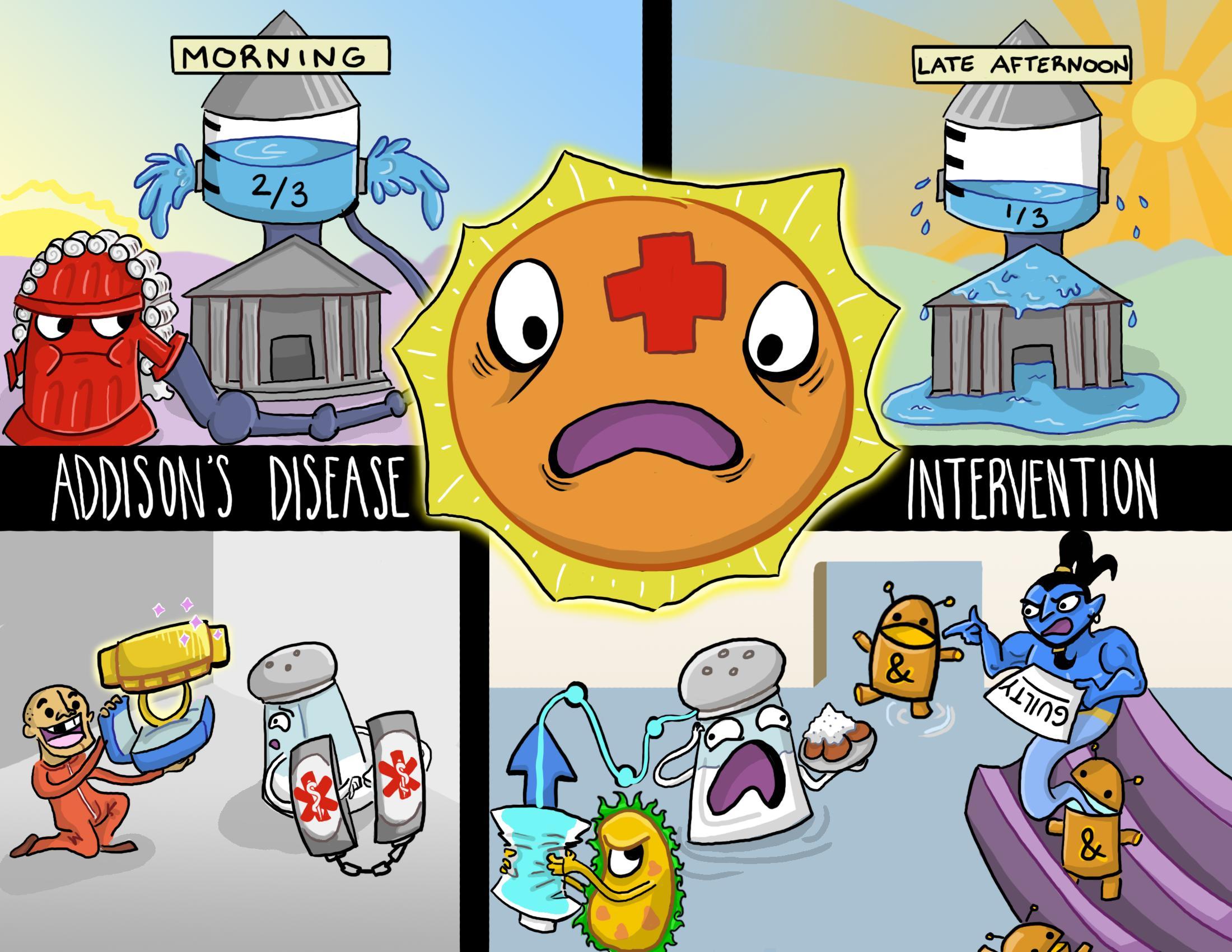 Addison's Disease Intervention