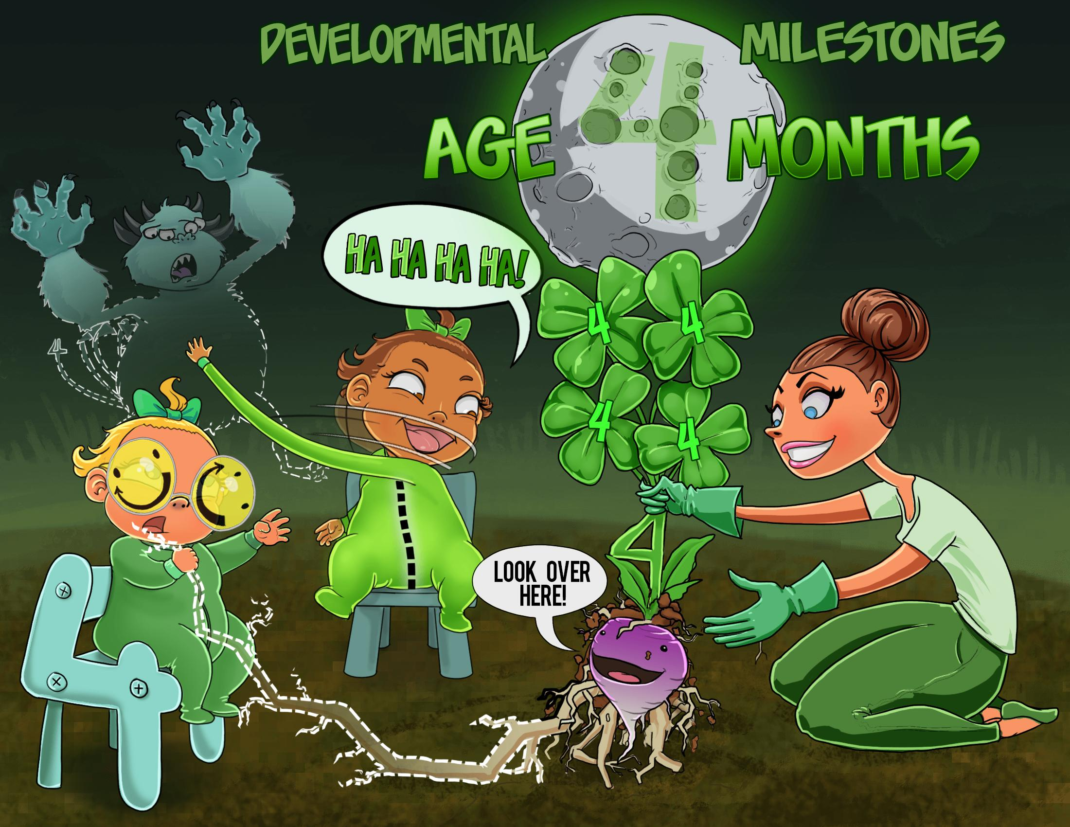 Age 4 Months - Developmental Milestones