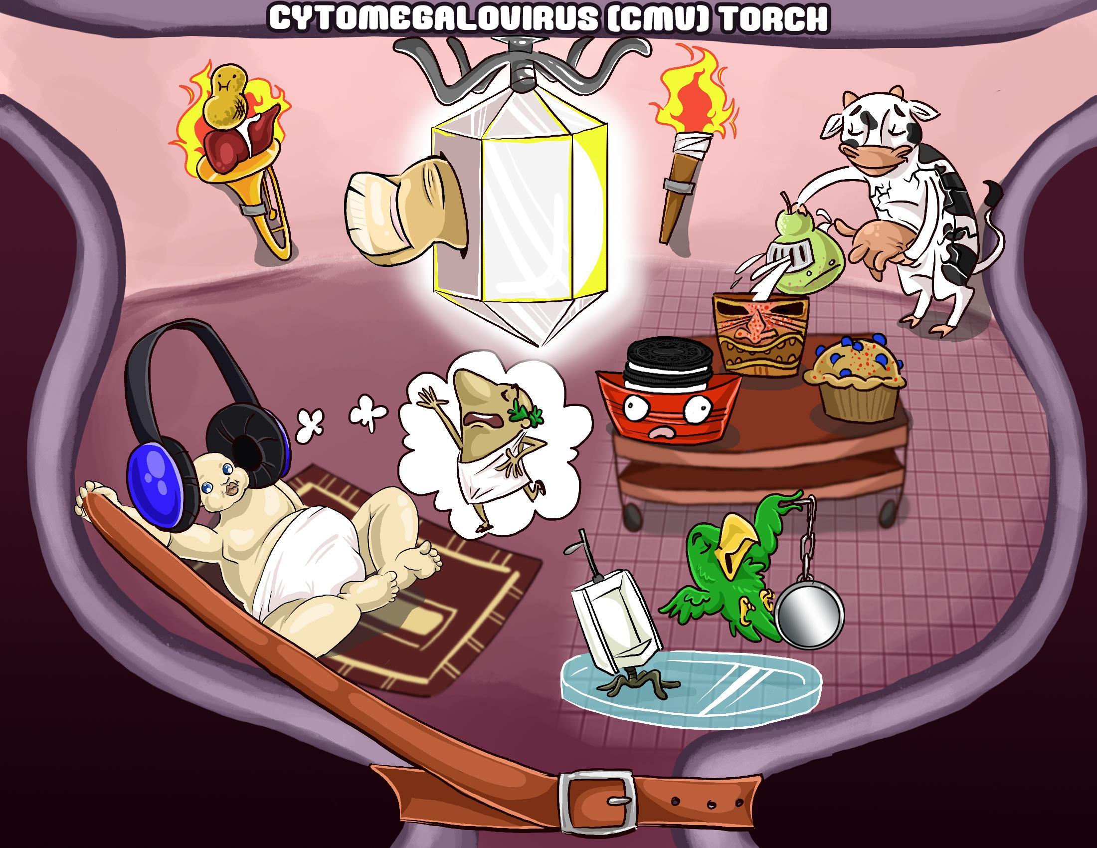 Cytomegalovirus (CMV) TORCH