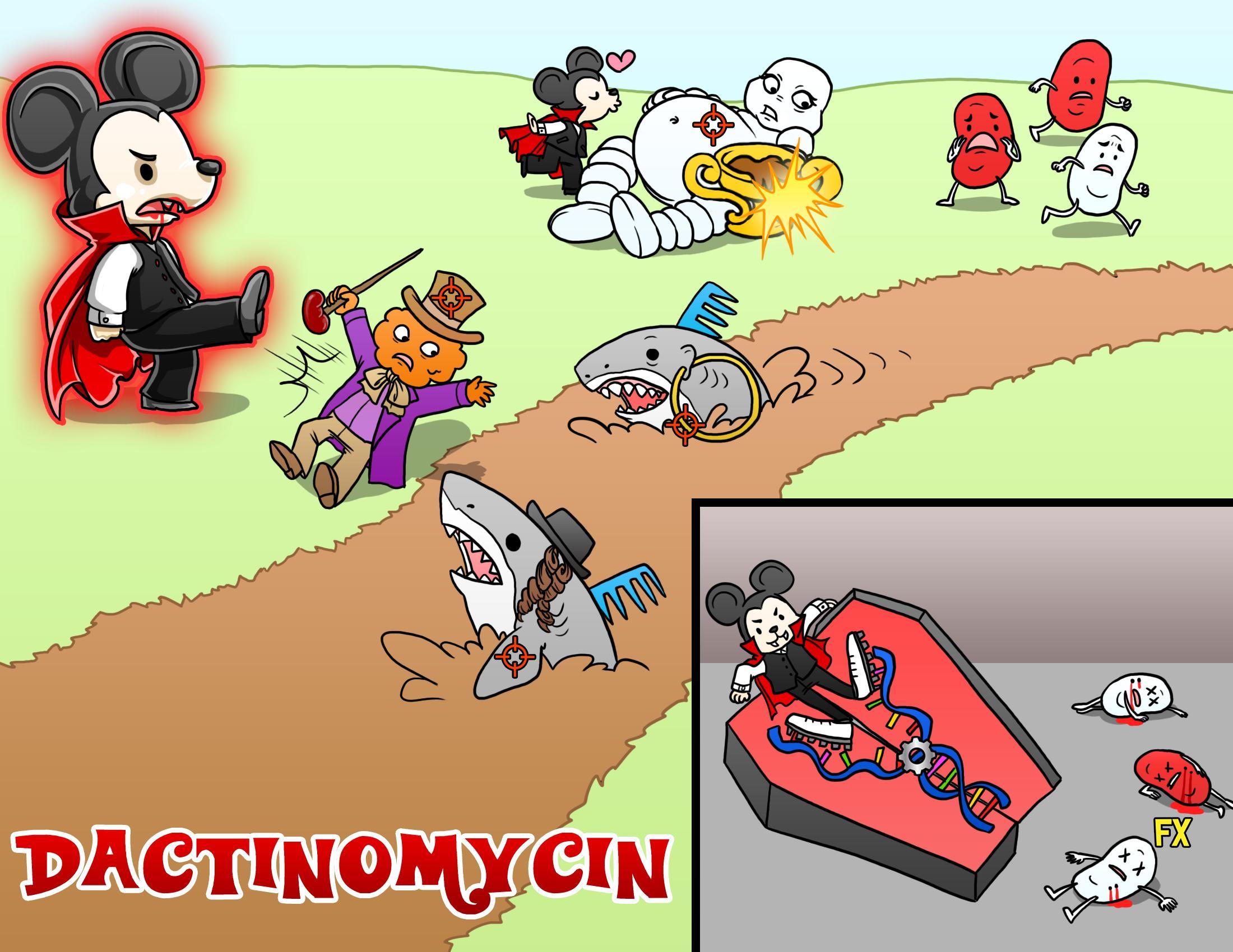 Dactinomycin (Actinomycin D)