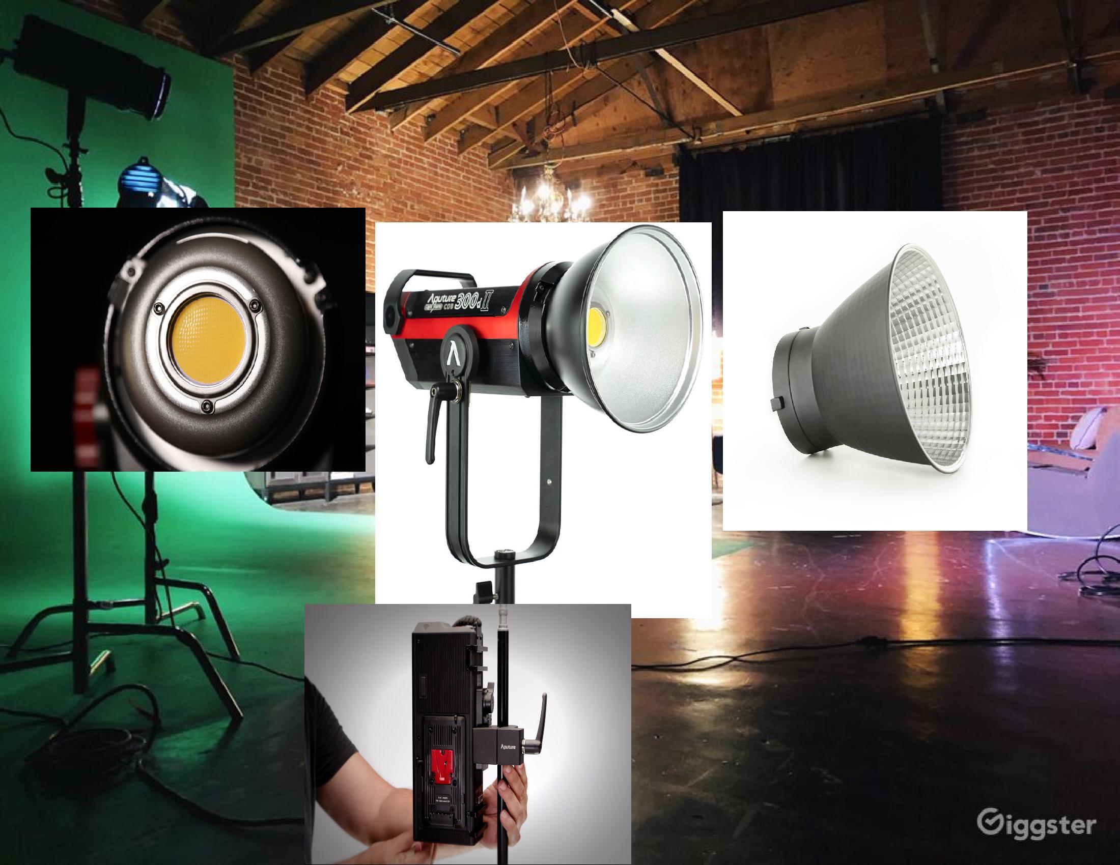 Filmmaking LED Lighting Fixtures 1