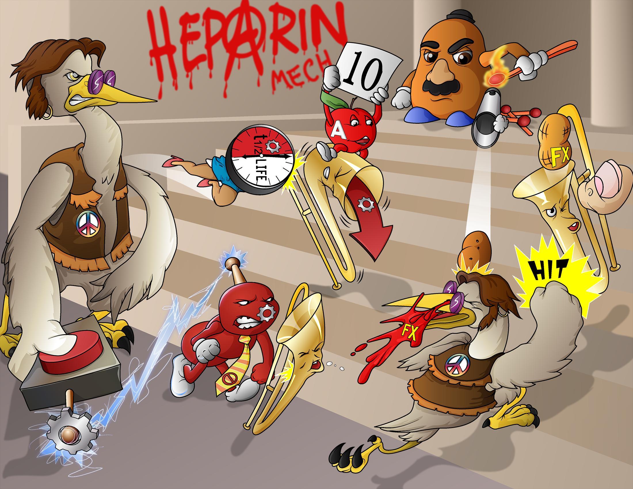 Heparin Mechanisms