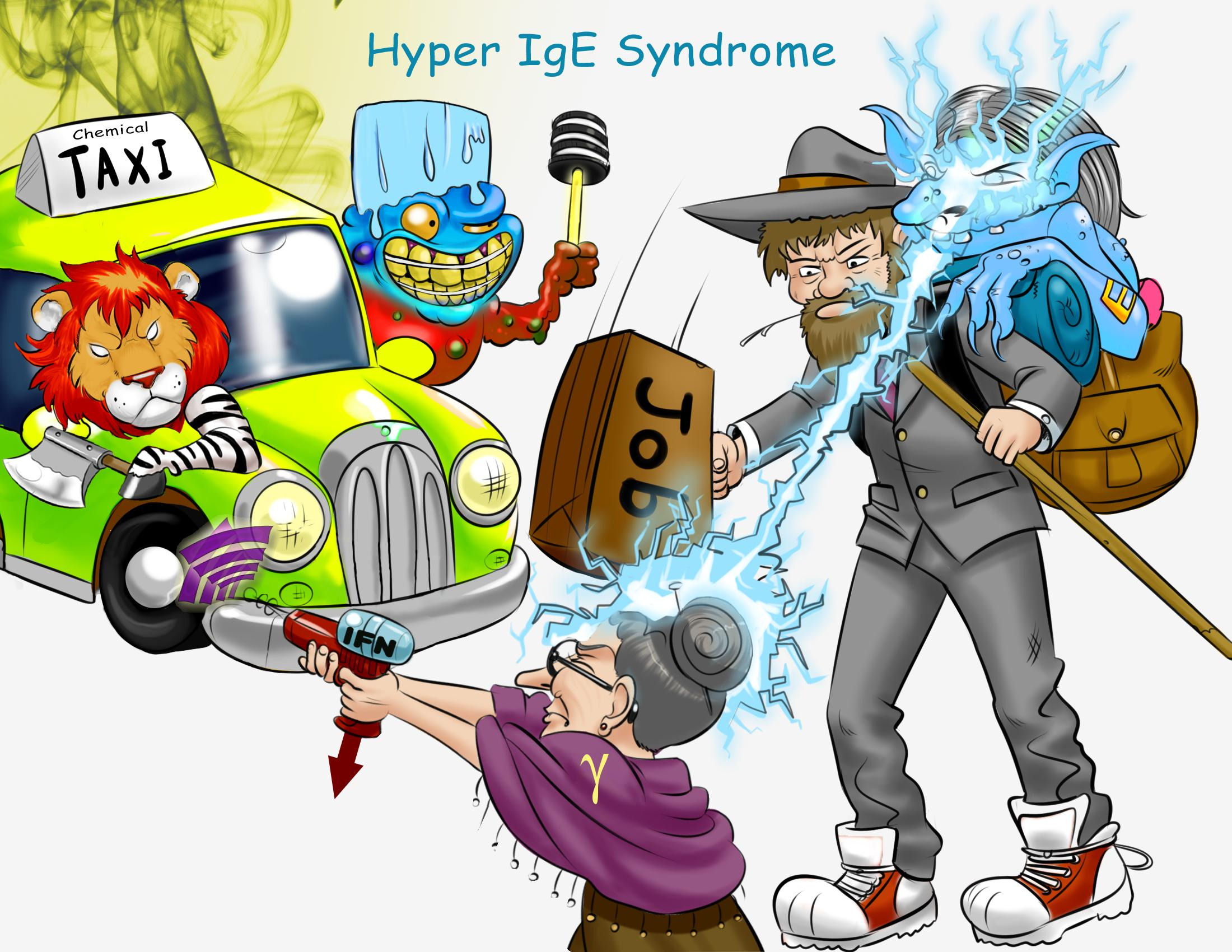 Hyper IgE Syndrome