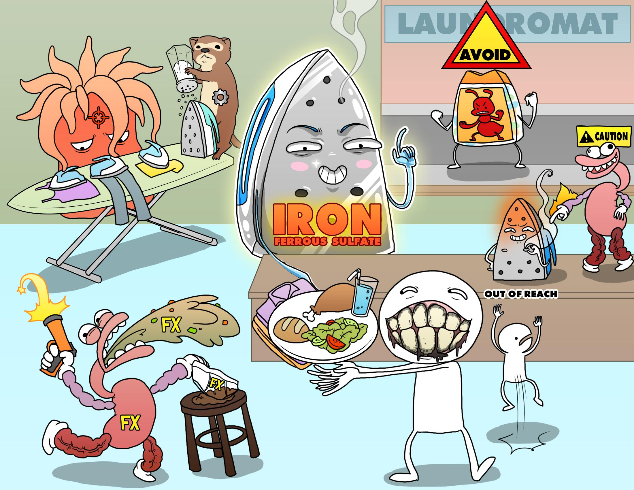 Iron (Ferrous Sulfate)