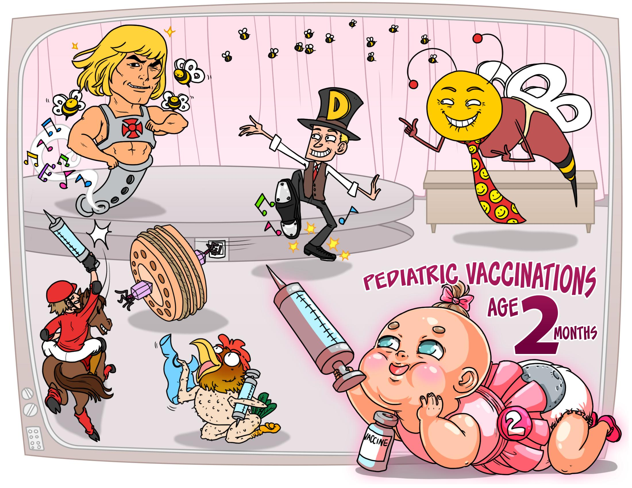 Pediatric Vaccinations - Age 2 Months