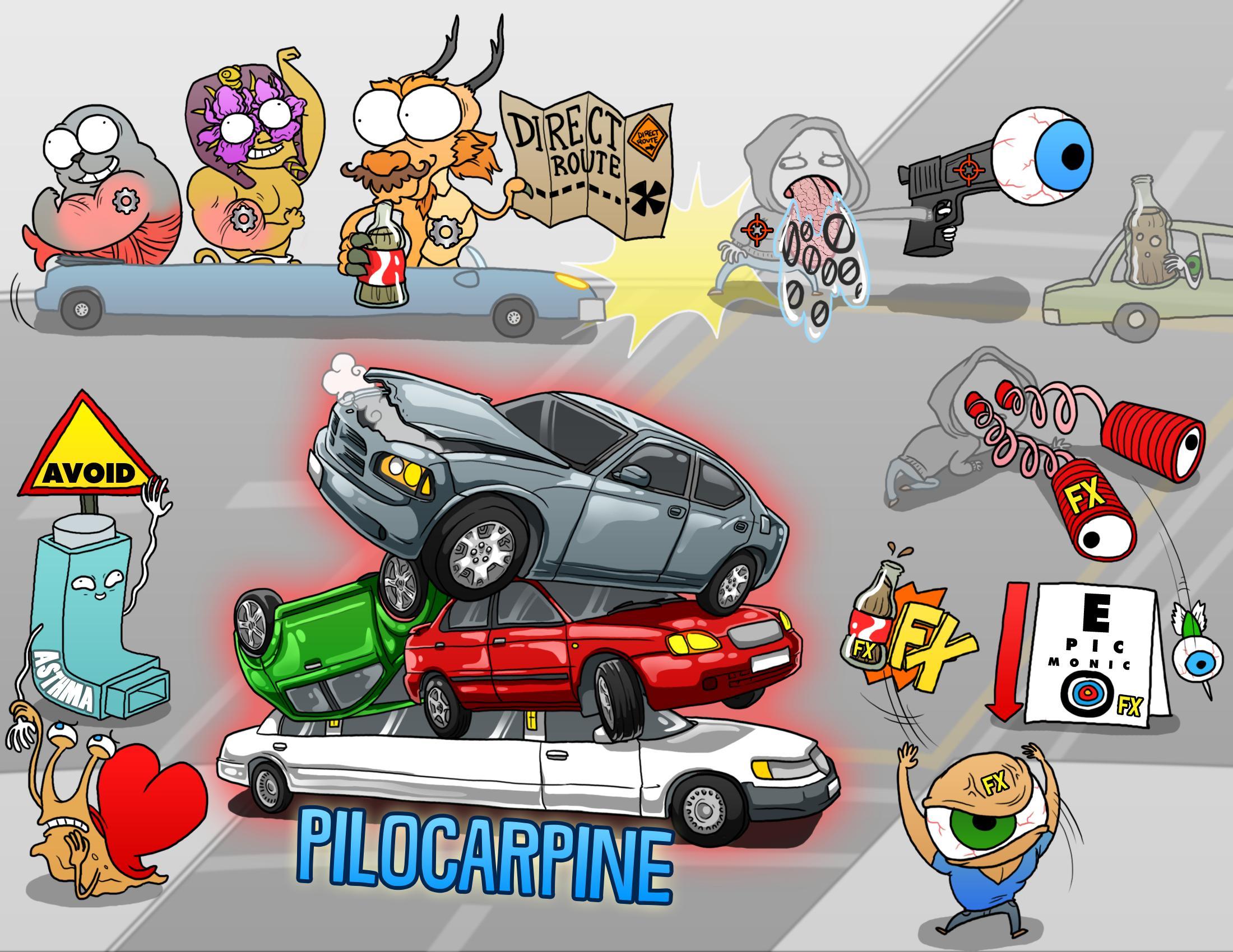 Pilocarpine (Pilocar)
