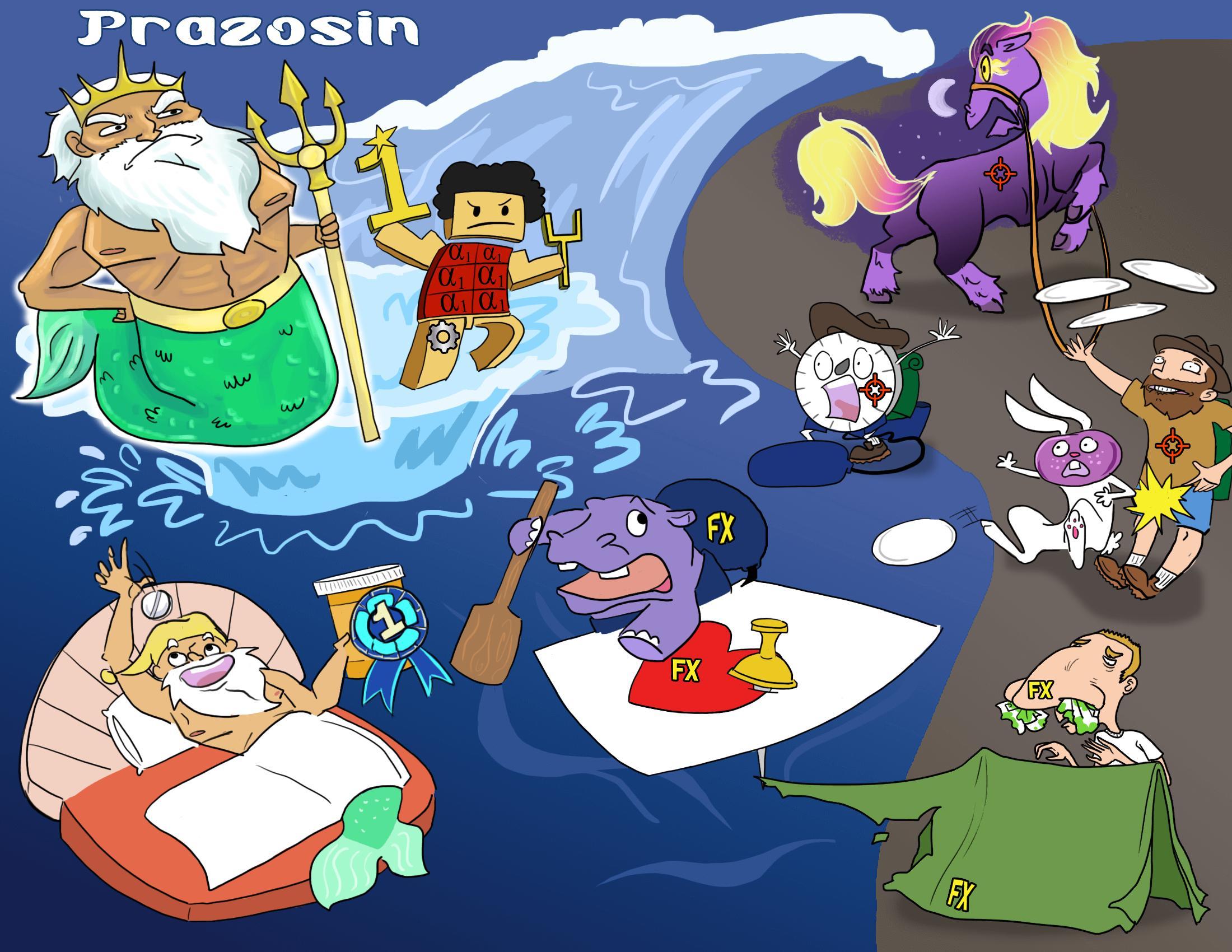 Prazosin (Minipress)