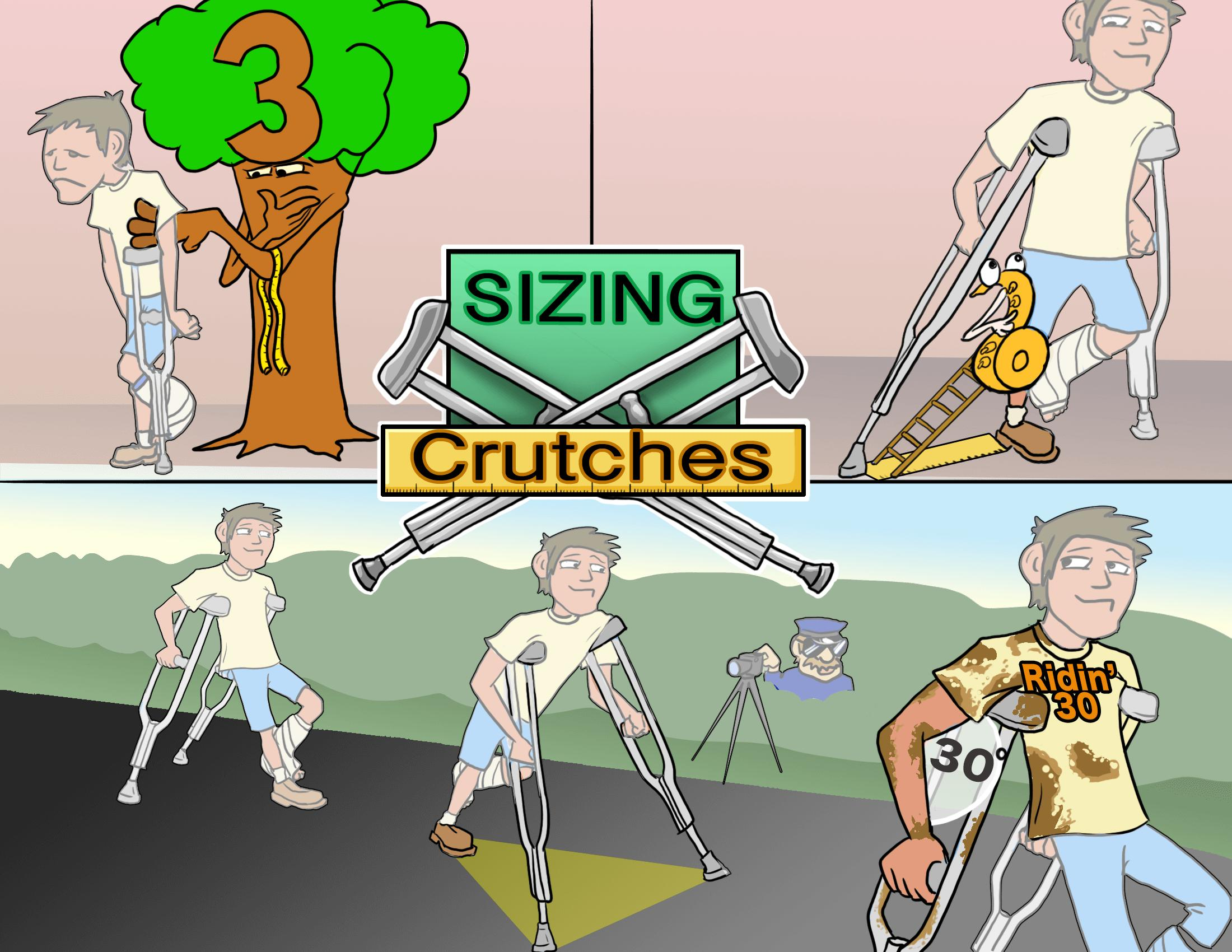Sizing Crutches