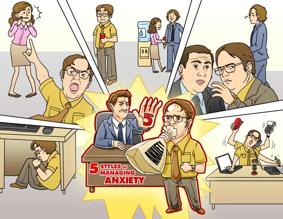 5 Styles of Managing Anxiety (in the workplace)
