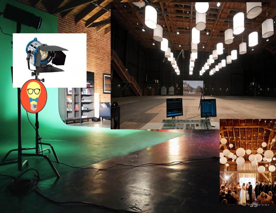 Filmmaking Tungsten Lighting Fixtures 2