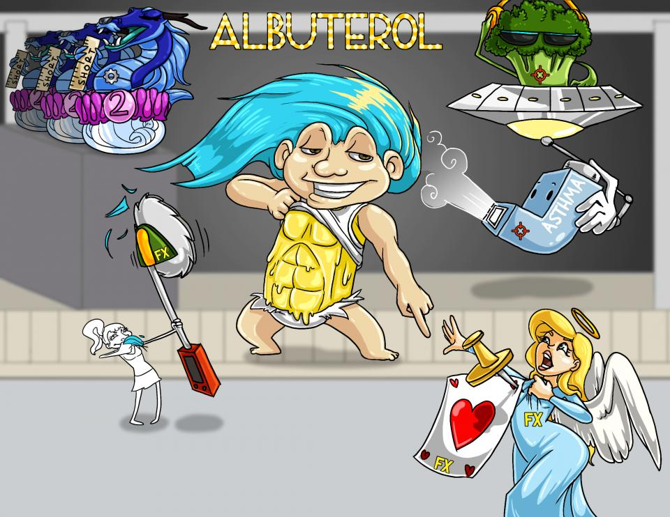 Albuterol (Proventil)