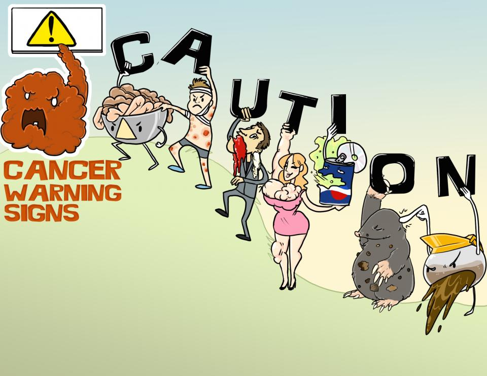 Cancer Warning Signs (CAUTION)