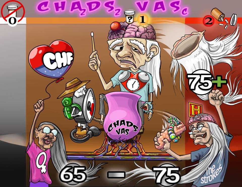 CHA2DS2-VASc for Stroke Risk in Atrial Fibrillation