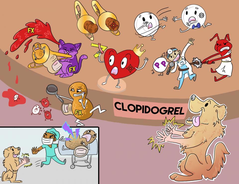 Clopidogrel (Plavix)