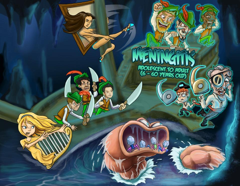 Common Causes of Meningitis: Adolescent and Adult (6 - 60 Years Old)