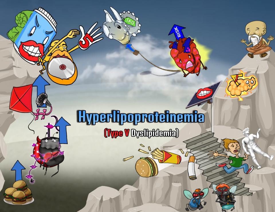 Hyperlipoproteinemia (Type V Dyslipidemia)