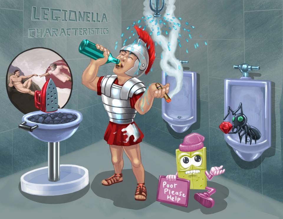 Legionella Characteristics