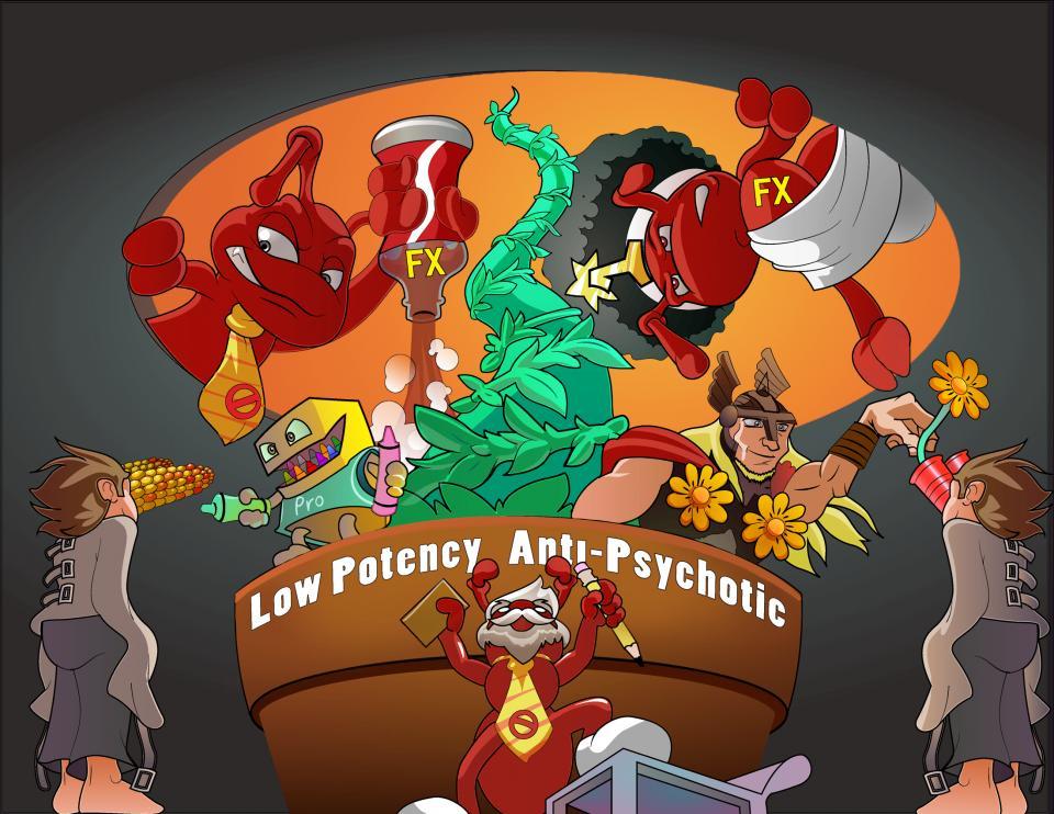 Low Potency Antipsychotic Drugs