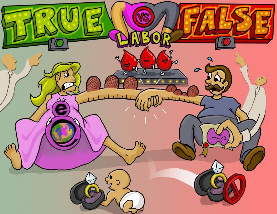 True vs. False Labor