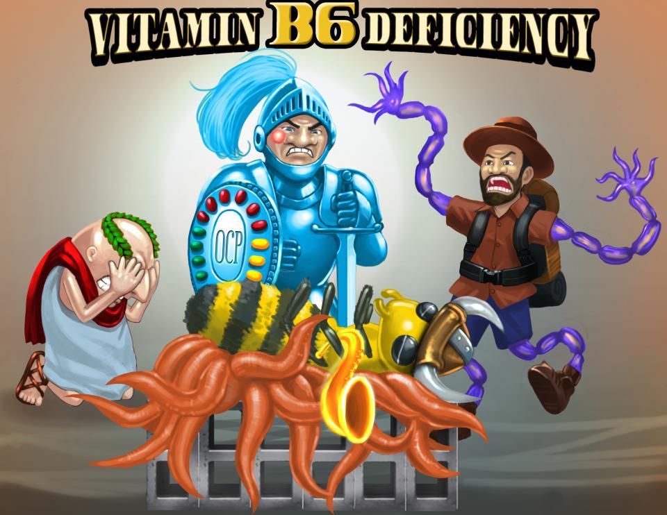 Vitamin B6 (Pyridoxine) Deficiency