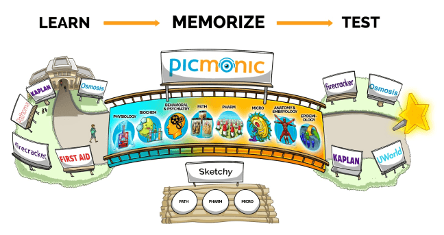 Why use Picmonic to improve your test scores?
