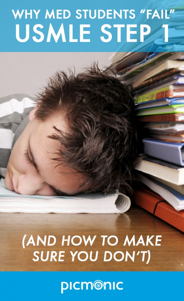 Why Med Students Fail the USMLE Step 1