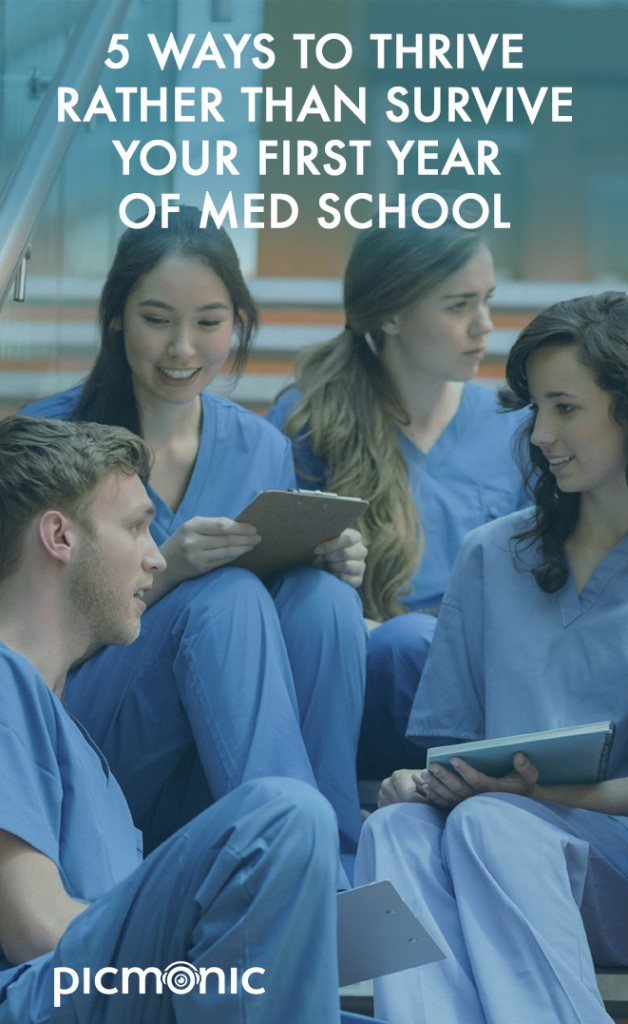 5 Ways to Thrive in Med School