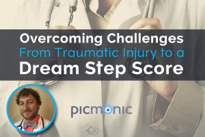 Overcoming Challenges- From Traumatic Injury to a Dream Step Score Bill Salmon