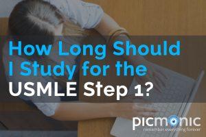How long should I study for USMLE Step 1?