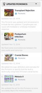 Updated Picmonics