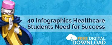 Study tools for healthcare students: 40 Infographic Pack Digital Download