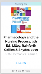 Pharmacology and the Nursing Process, 9th Ed., Lilley, Rainforth Collins & Snyder, 2017