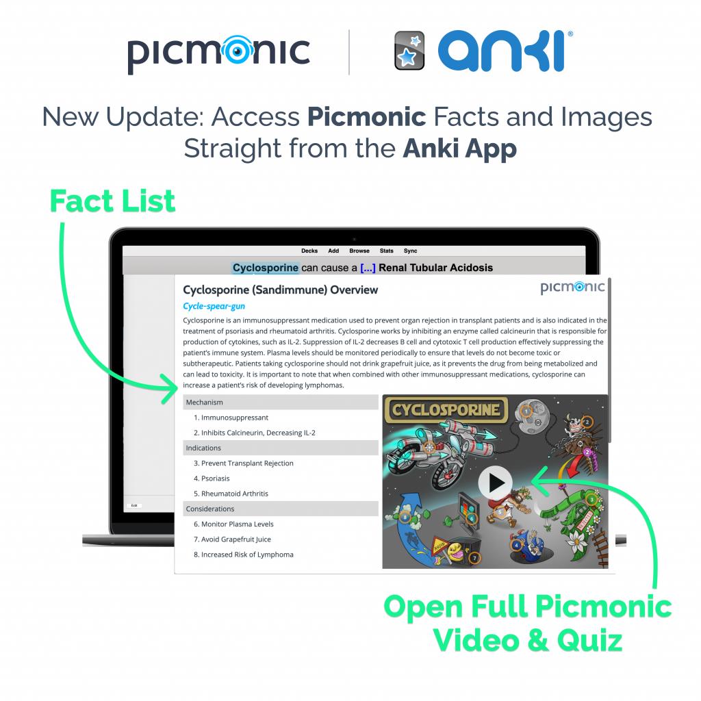 Picmonic Anki Add-On on YouTube