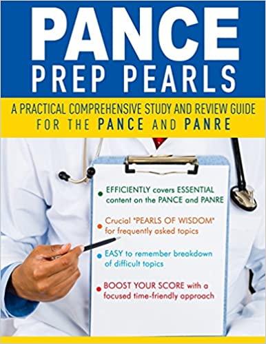 PANCE Prep Pearls: 1st Ed. (2014)