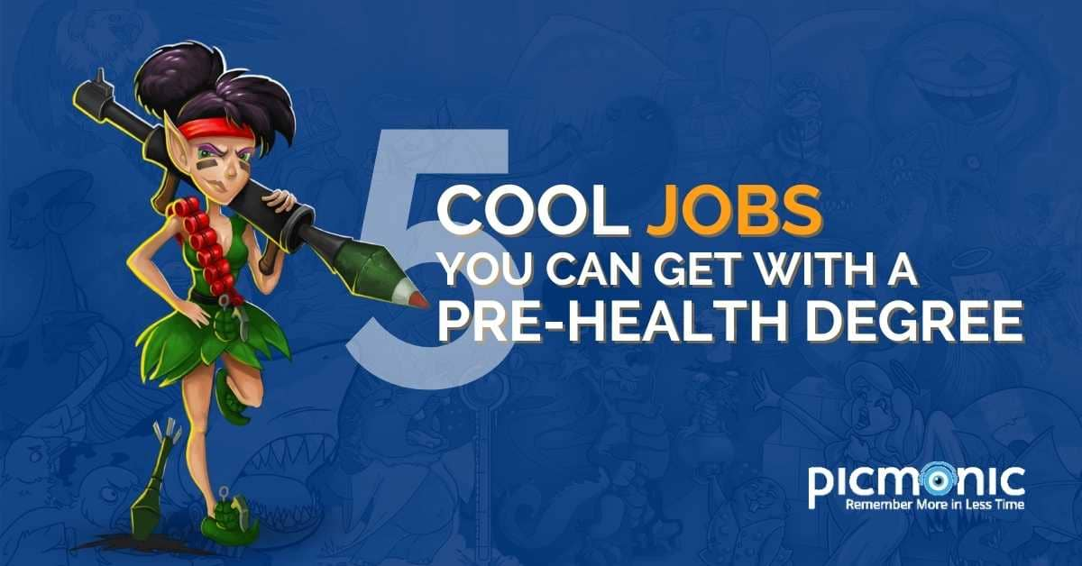 5 Cool Jobs You Can Get With a Pre-Health Degree