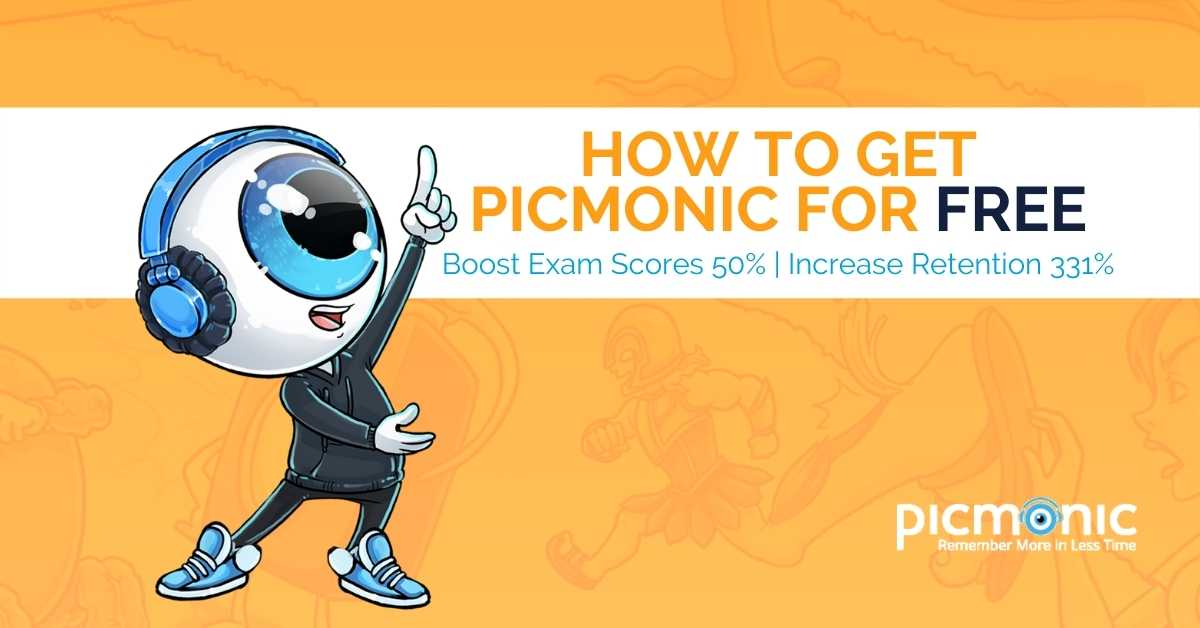 How to get Picmonic FREE.