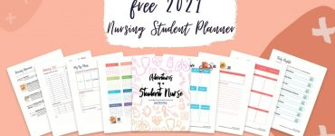 FREE VIP Digital Download of our 2021 Nursing School Planner