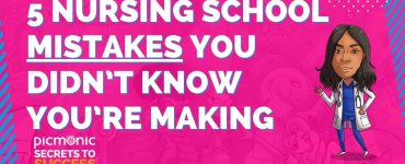 5 Nursing School Mistakes You Didn't Know You're Making: A Webinar for Student Success